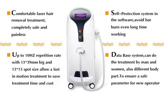 Permanent Hair Removal 808nm Diode Laser Hair Removal Beauty Machine