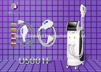 Super SHR IPL Laser Hair Removal Equipment 7.4 Inch Key Touch Blue Screen Display