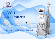 Multifunctional Laser Elight SHR IPL Machine 3 Handles Design Customizable