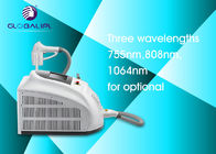 13 * 13mm Spot Size Diode Laser Hair Removal Machine 755nm 808nm 1064nm