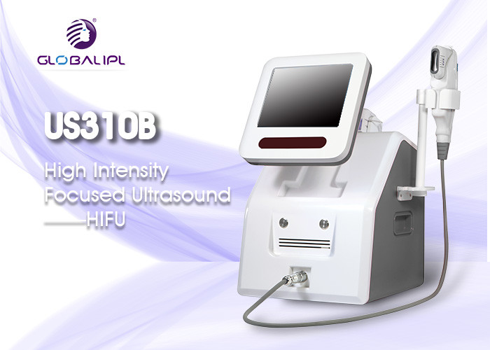 35 * 38 * 58cm HIFU Machine , English Language Non Surgical Face Lift Machine