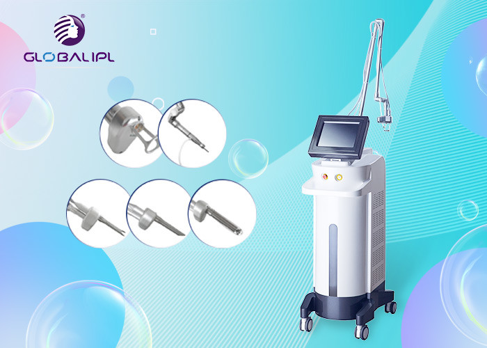10600nm CO2 Fractional Laser Machine For Removal Acne Wrinkle Skin Rejuvenation