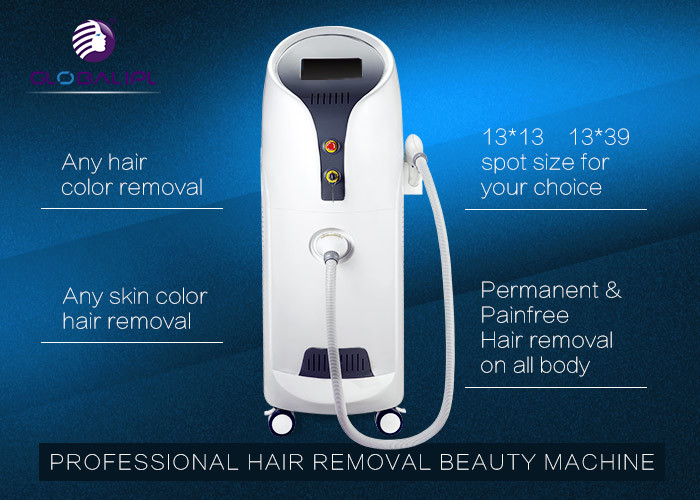 0.5-10HZ Diode Hair Removal Laser Machine / 810nm Lady Hair Removal Machine For Salon