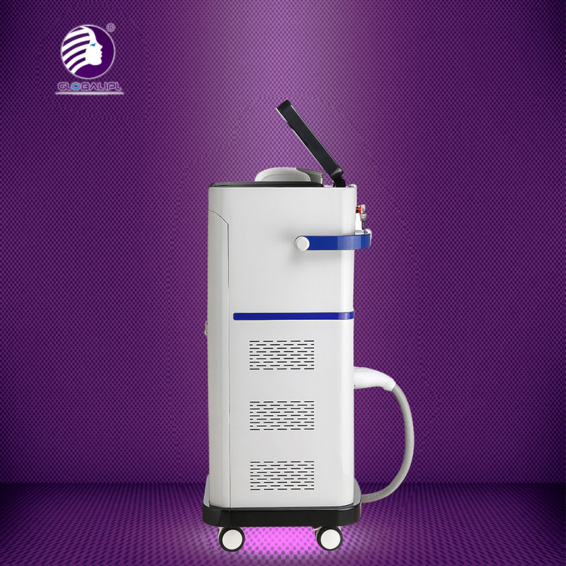 Painless Diode Laser Hair Removal Machine 808nm 2700W 5 - 400ms Adjustable Pulse Width