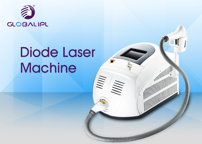 Small Size 808nm Commercial Laser Hair Removal Machine 5 - 400ms Adjustable Pulse Width